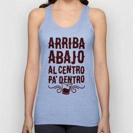 ARRIBA ABAJO AL CENTRO PA_ DENTRO T-SHIRT Unisex Tank Top