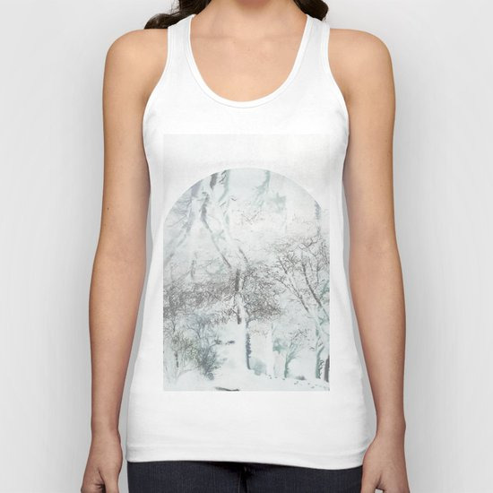With a Whisper Unisex Tank Top