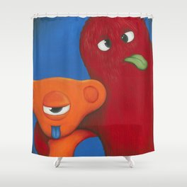 Persy and Carmine Shower Curtain