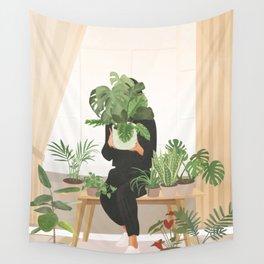 My Little Garden II Wall Tapestry