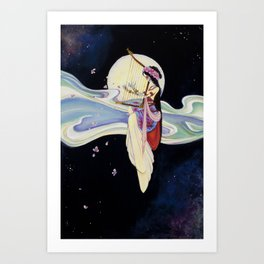 """""""Blossoms to Stars"""" painting by Emma Gardner Art Print"""