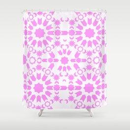 Pink Arabesque Shower Curtain