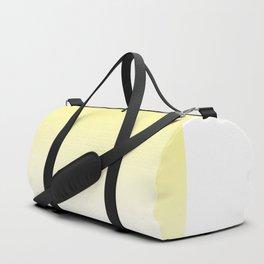 Yellow Ombre #minimal #design #kirovair #buyart Duffle Bag