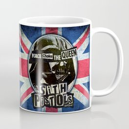 Sith Pistols - Force Choke The Queen Coffee Mug