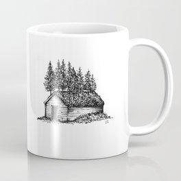 Shack & Trees Coffee Mug