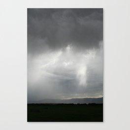 Uneven Rain Canvas Print