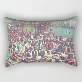 Pier Tetris Rectangular Pillow
