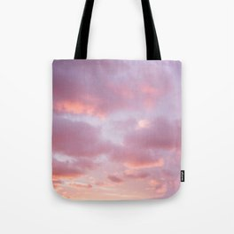 Unicorn Sunset Peach Skyscape Photography Tote Bag