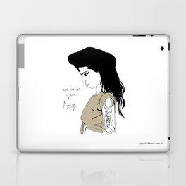 We miss you Amy Laptop & iPad Skin