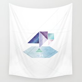 Pondering Pica Wall Tapestry