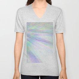 Re-Created Rapture 3 by Robert S. Lee Unisex V-Neck