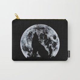 Wolf And Moon Carry-All Pouch