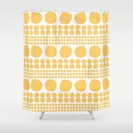 Sten gul Shower Curtain