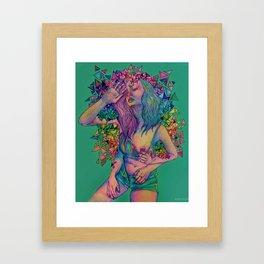 wreck Framed Art Print