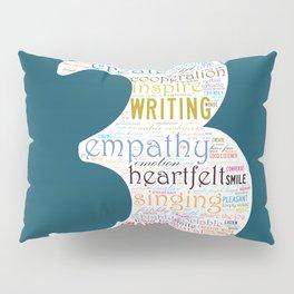 Life Path 3 (color background) Pillow Sham