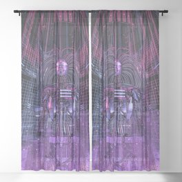 Beryllium Princess Reloaded Sheer Curtain