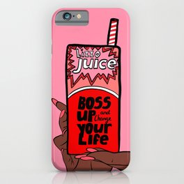 Lizzo Juice - Boss Up Your Life iPhone Case