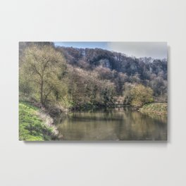 The Wye at Symonds Yat Metal Print