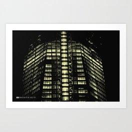 Manhattan Skyline Series 007 Art Print
