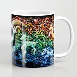 THE PLACE OF SILENT HOOVES Coffee Mug