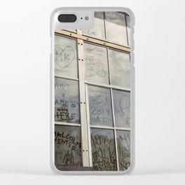 Window Art Work Clear iPhone Case