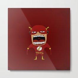 Screaming Flash Metal Print
