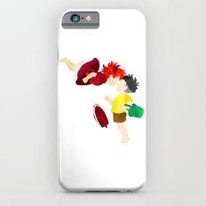 Ponyo and Sosuke white background iPhone 6s Slim Case