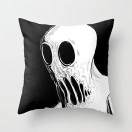 Ghoul Throw Pillow