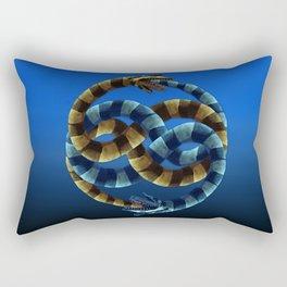 The Never Ending Sand Worm Rectangular Pillow