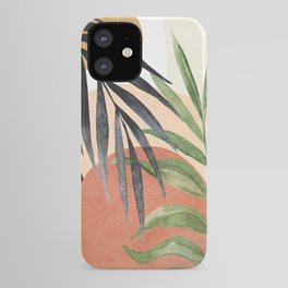 Abstract Tropical Art VI iPhone Case