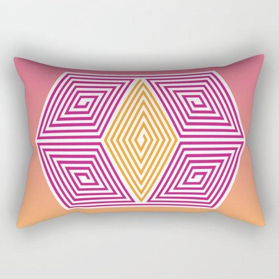 Geometric lines Rectangular Pillow