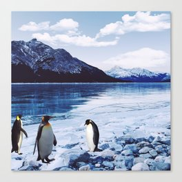 Living Free in the North Canvas Print