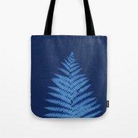 fern Tote Bags featuring Fern by Jill Byers