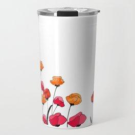 Amapolas Travel Mug