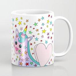 Rainbow the Unicorn Starstruck Coffee Mug