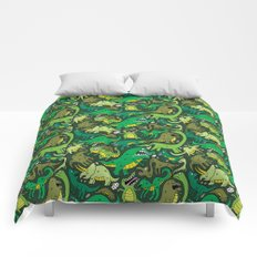 Dino Pattern Comforters