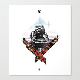 """Outcasts""   collage art Canvas Print"