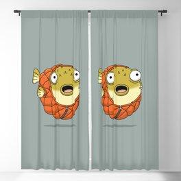 Puffer fish Blackout Curtain