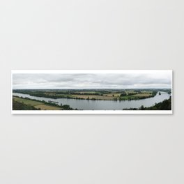 Panorama of Danube, Germany Canvas Print