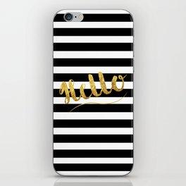 Golden Hello's iPhone Skin