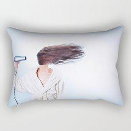 hair comic wind 4 Rectangular Pillow