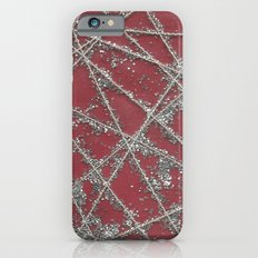 Sparkle Net Red iPhone 6s Slim Case