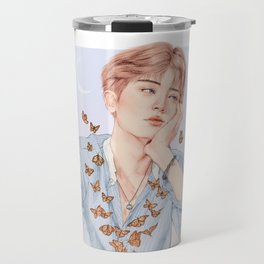 butterfly boy [chanyeol exo] Travel Mug