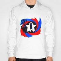 peggy carter Hoodies featuring Carter. Agent Carter. by Lydia Joy Palmer