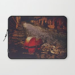 Finale - Cello and Bones Laptop Sleeve