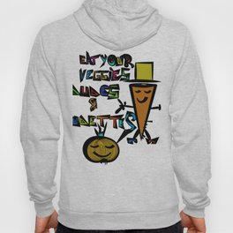 Eat your Veggies - Mr. Onion & Mr. Carrot Hoody