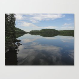 Reflections on Micmac Lake Canvas Print