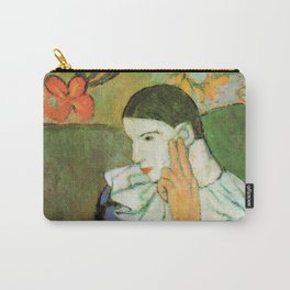 Pablo Picasso Harlequin Leaning on His Elbow Carry-All Pouch