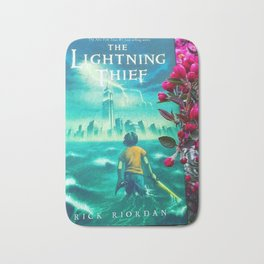 Percy Jackson & the Cherry Blossom Tree Bath Mat