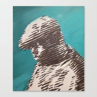 notorious Canvas Prints featuring Notorious  by Delton Demarest
